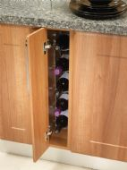 FIXED WINE RACK (Innostor) for 150mm wide cabinet (ECF WWFWR150)